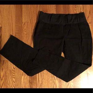 Gap Maternity slim cropped black pants size 8